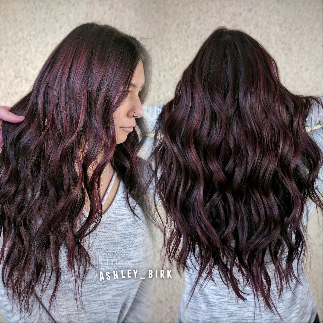 Waves So Beautiful Custom Color On My Girl Kaaaatiecat Shout Out To Mrhairartistry For Styling For Me Team Work Makes The D Vegas Hair Hair Hair Stylist