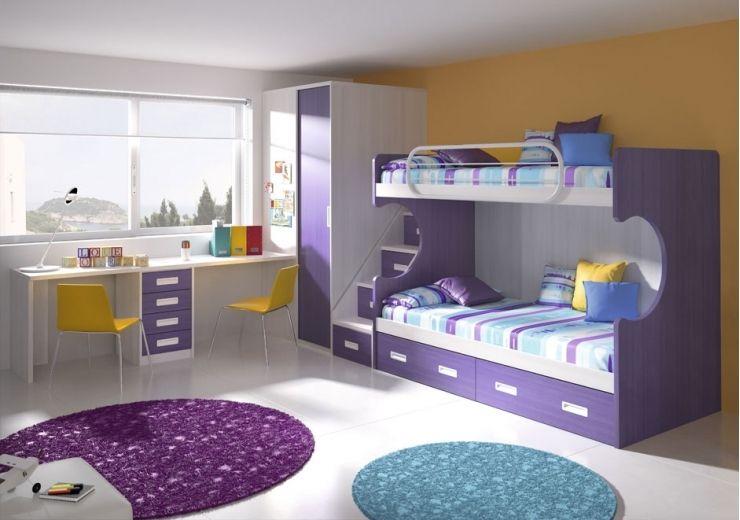 Literas juveniles modernas buscar con google home for Dormitorios ninos baratos