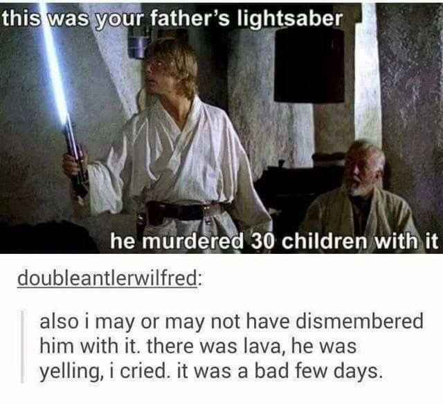 Star Wars Cold Hard Truth Star Wars Humor Star Wars Memes You Are The Father