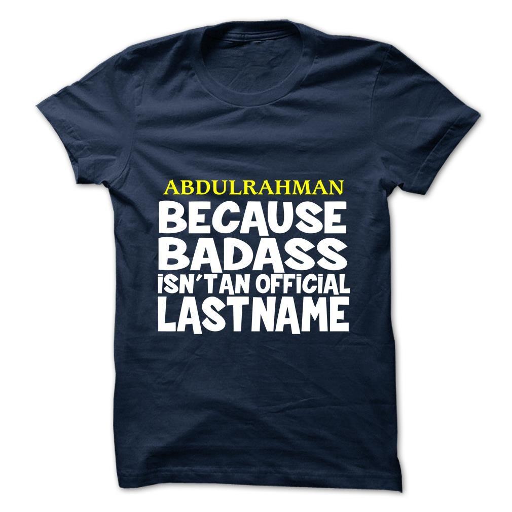 (Tshirt Discount) ABDULRAHMAN Discount Today Hoodies Tees Shirts