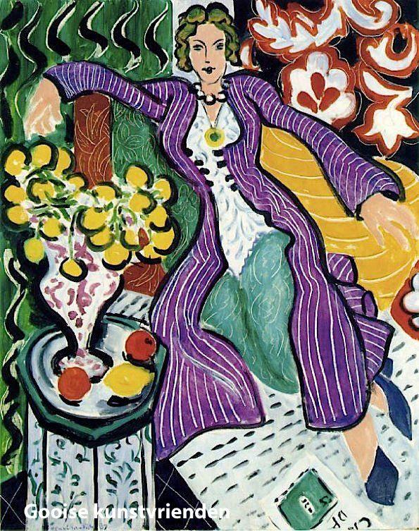 Goede Henri Matisse - 1937 | Matisse kunst, Matisse schilderijen MN-78
