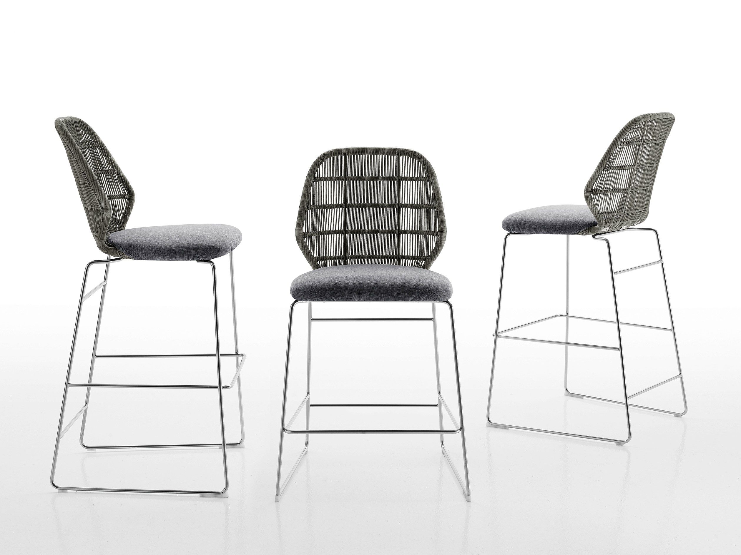 Crinoline cadeira alta by b b italia outdoor a brand of b for B b italia spa