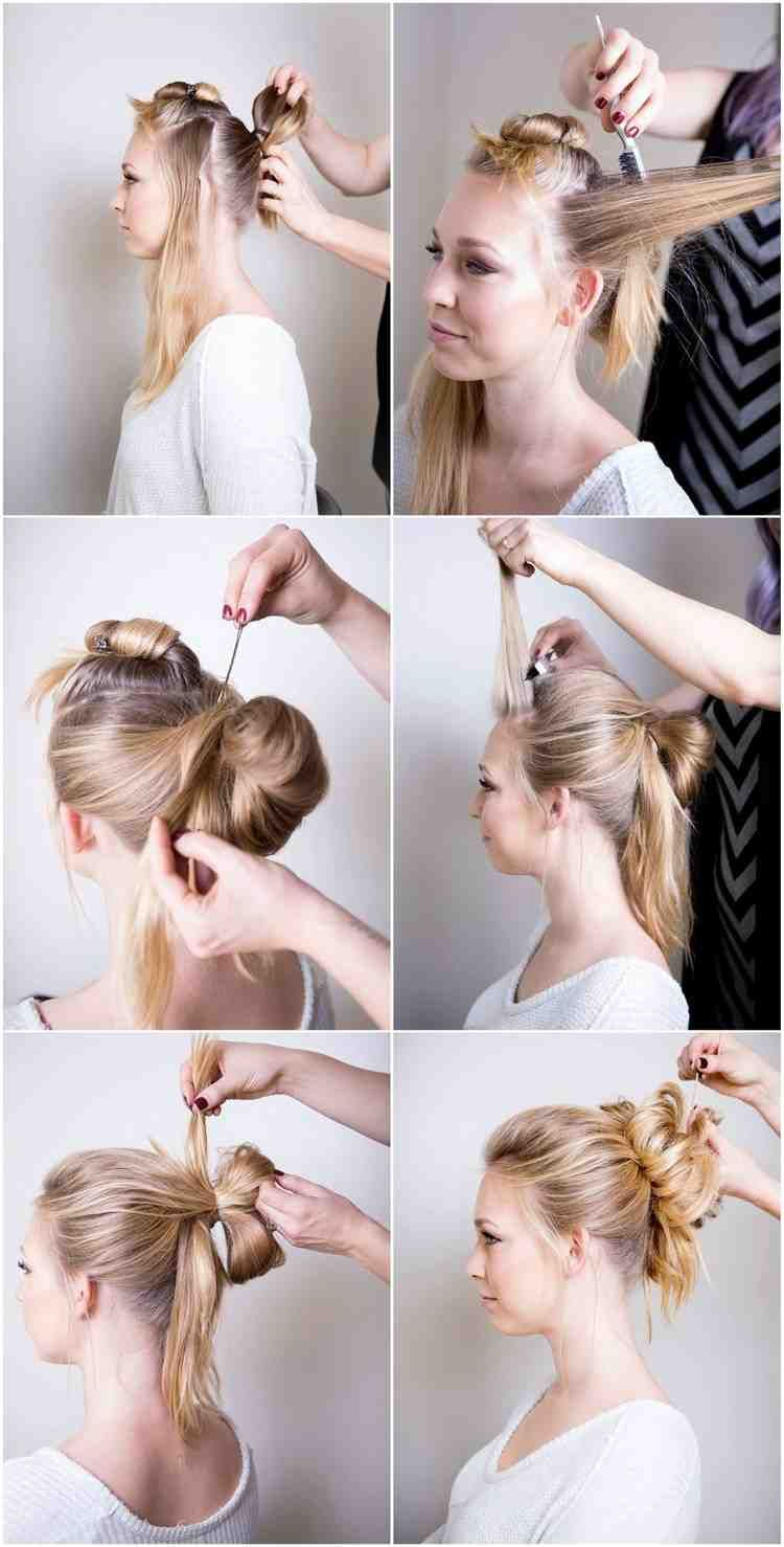 Festive Updos With Instructions 6 Styling Ideas Perfect For New Year S Eve Festive Ideas Instructions Perfect S Hair Styles Womens Hairstyles Hairstyle