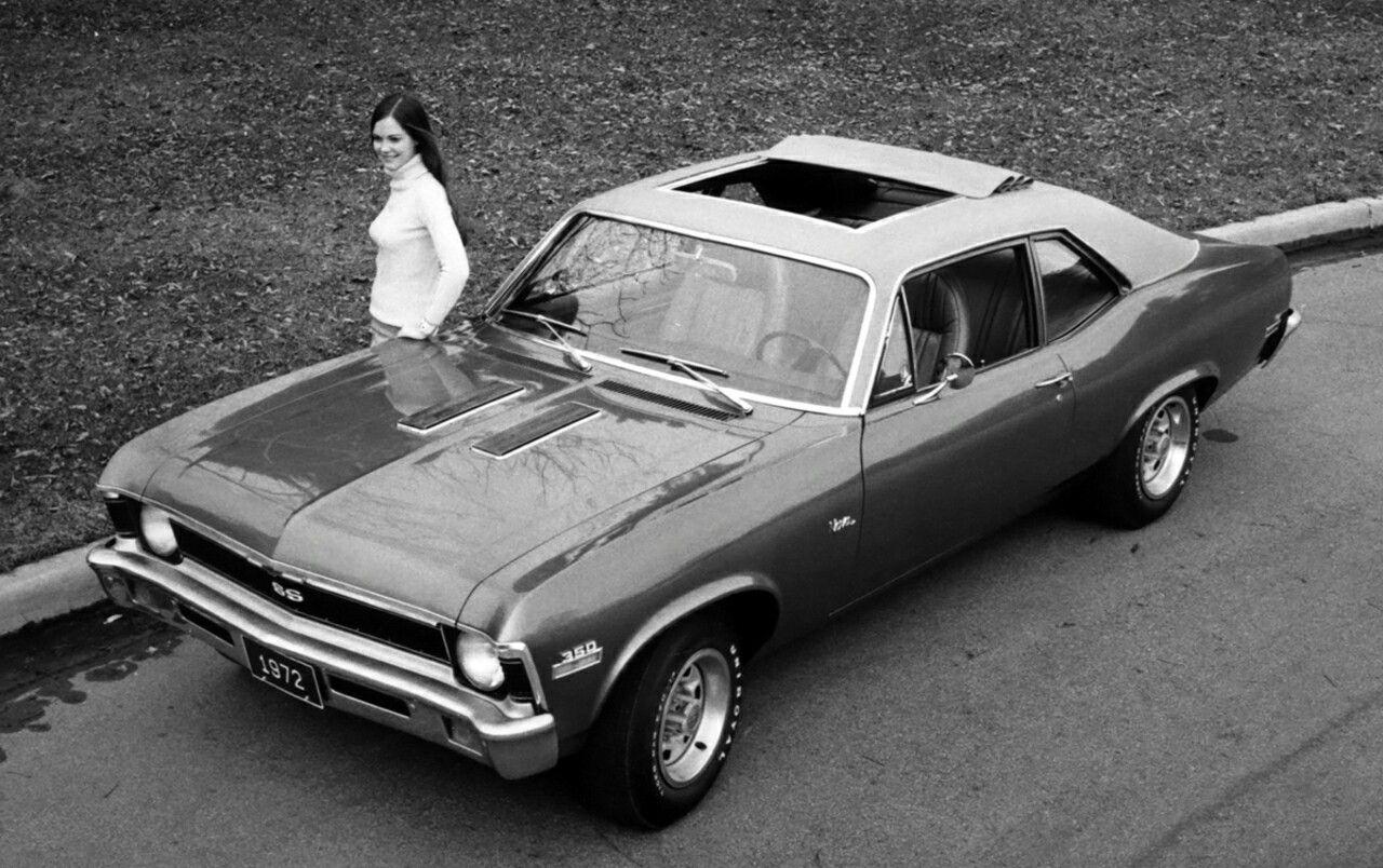 All Chevy black chevy nova ss : 1972 Nova SS promo photo The sunroof did not make into production ...