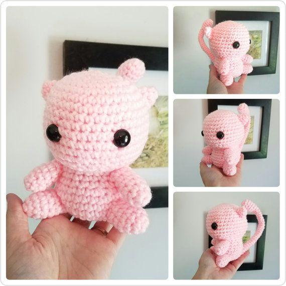 Pokemon Mew Toy. Pokemon Mew Plush. Crochet Mew Doll. Amigurumi Mew ...