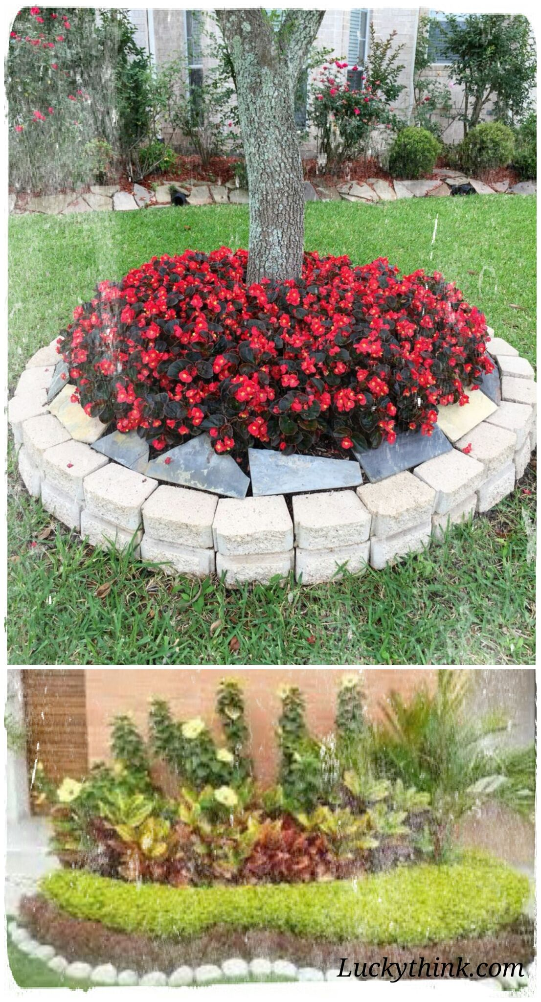Examples Of Landscaping Ideas That Can Be Applied On Your Home Page Backyard Landscaping Garden Design Front Yard Garden Design Backyard landscaping flower bed ideas