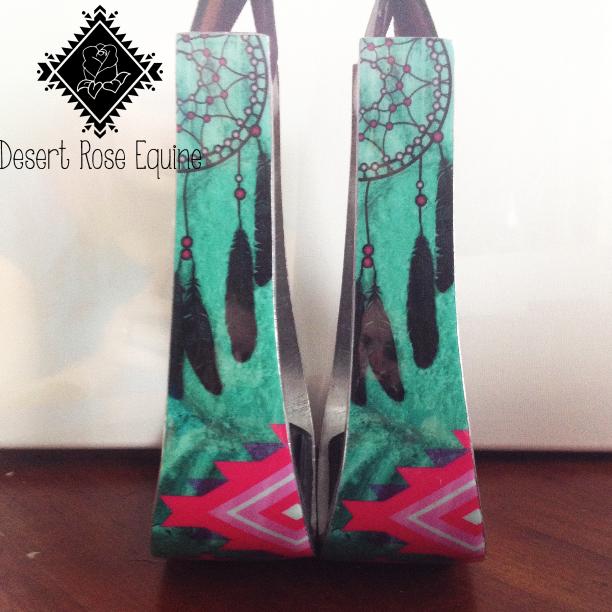 Dream Catcher Stirrups by Desert Rose Equine - Ranch Dress ...