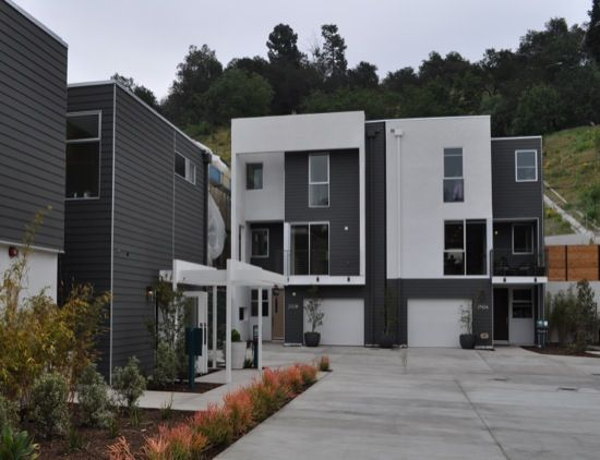 Modative Architect Firm Echo Park Small Lot Subdivision 05 Architect Modern Architects Multifamily Housing