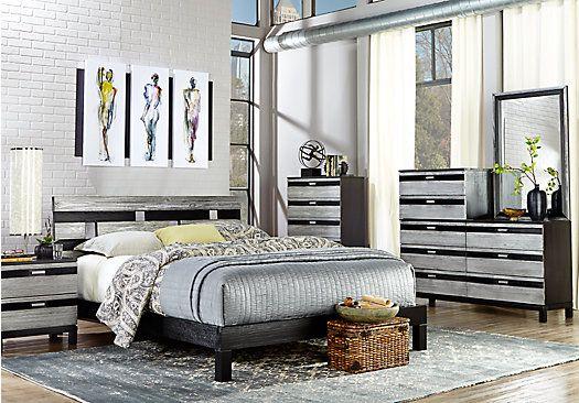 Best Picture Of Gardenia Silver 6 Pc Queen Bedroom From Queen 400 x 300
