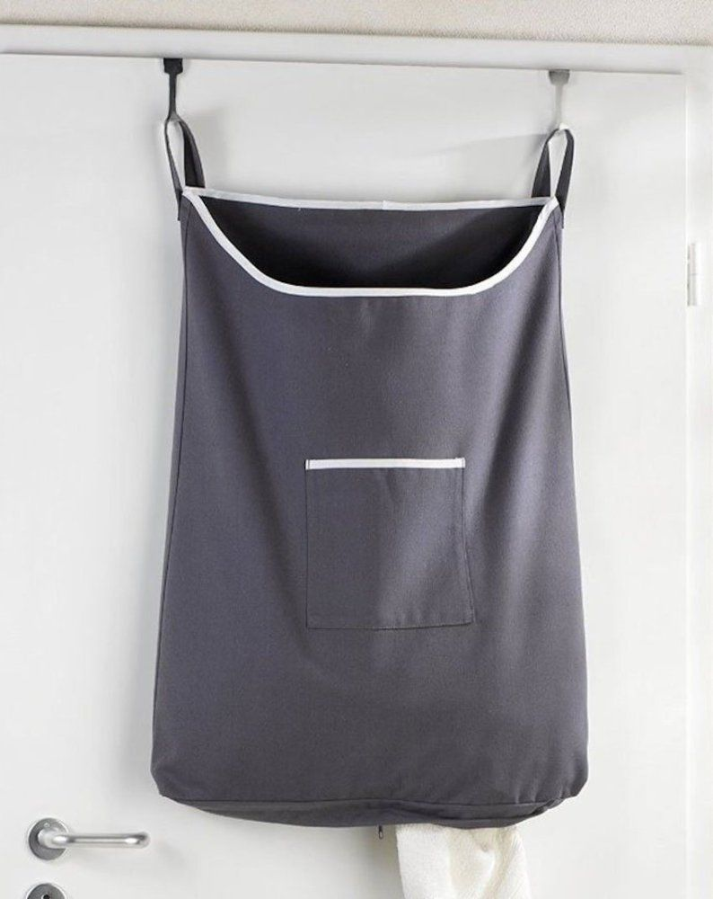 Lean Laundry 7 Slim Laundry Bags For Small Spaces Hanging Laundry Bag Laundry Hamper Laundry Bags Diy
