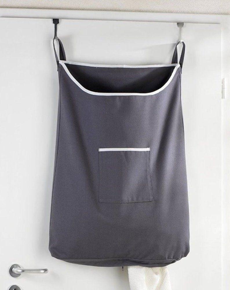 Space Saving Slim Laundry Basket