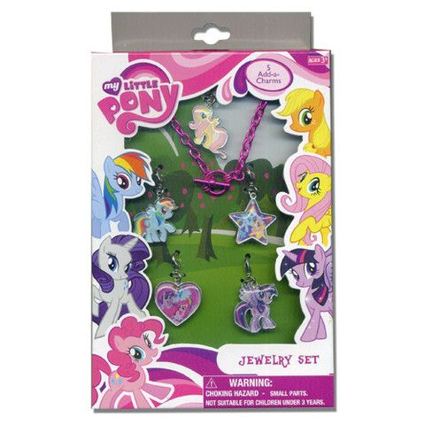 My Little Pony Jewelry Box Entrancing Ml317Nj  My Little Pony Jewelry Box Set Available Now  My Design Ideas