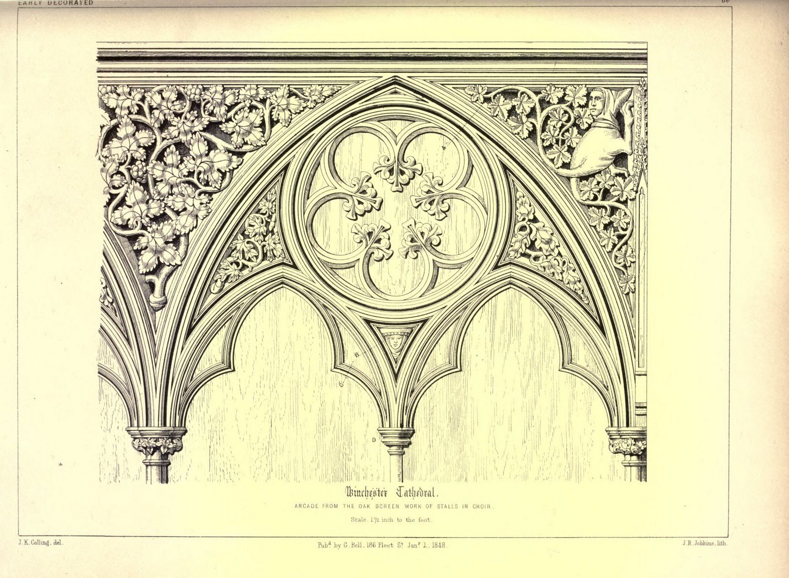 V. Scans from Colling\'s Gothic OrnamentsFrom the Image Archive ...