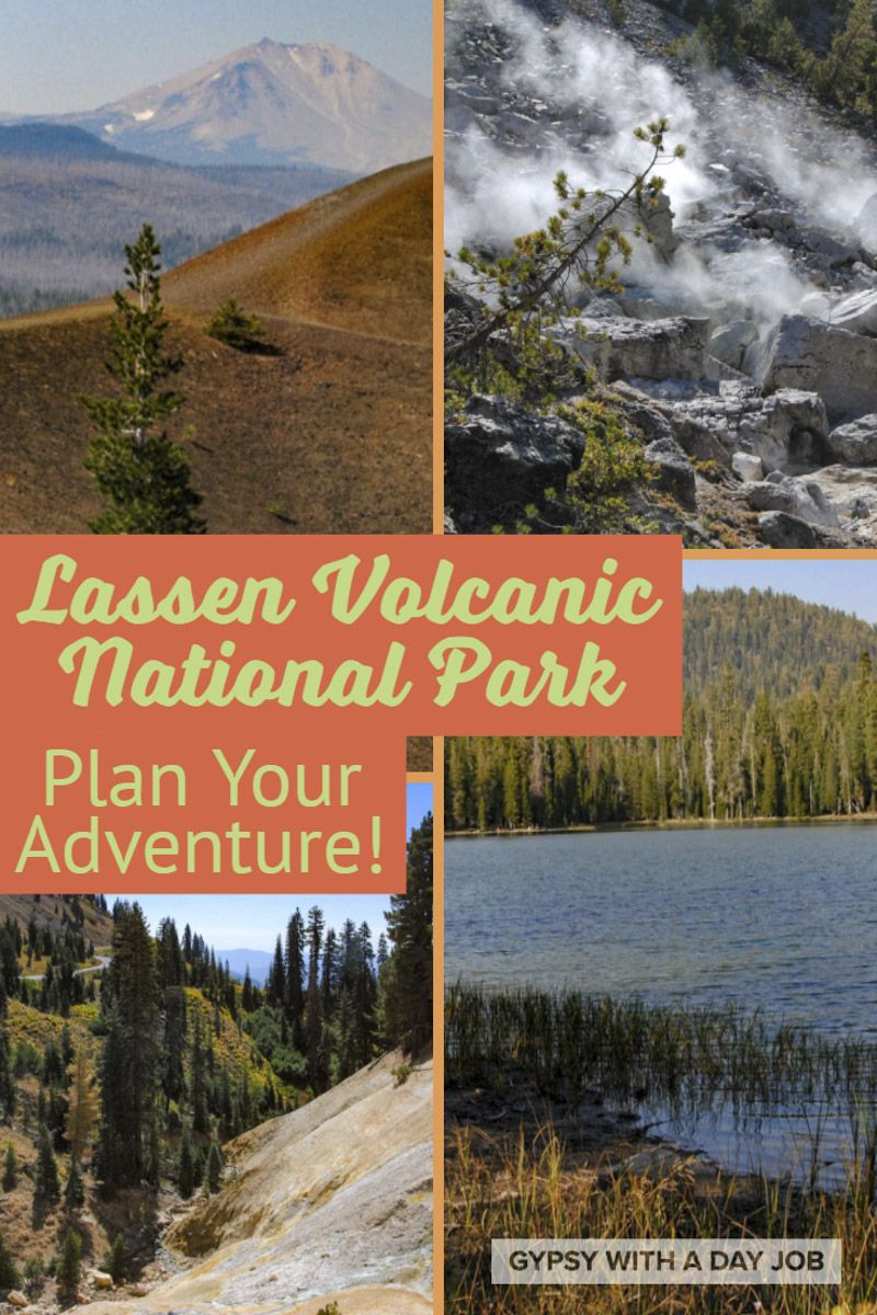 Lassen Volcanic National Park Map