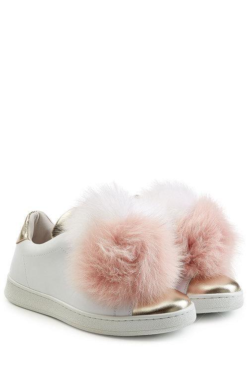 Joshua Ponceuses Pom Pom Chaussures De Sport - Blanc 2O4AUV082