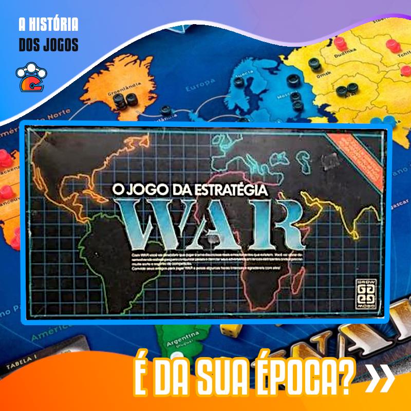War E Um Jogo De Tabuleiro Lancado No Brasil Pela Grow Em 1972 Baseado No Jogo Americano Risk Um Jogo Americano De 19 Jogos De Tabuleiro Jogos Jogo Americano