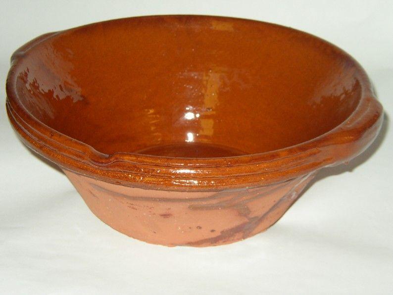 Cassole cassoulet pot pottery cassoulet bowl