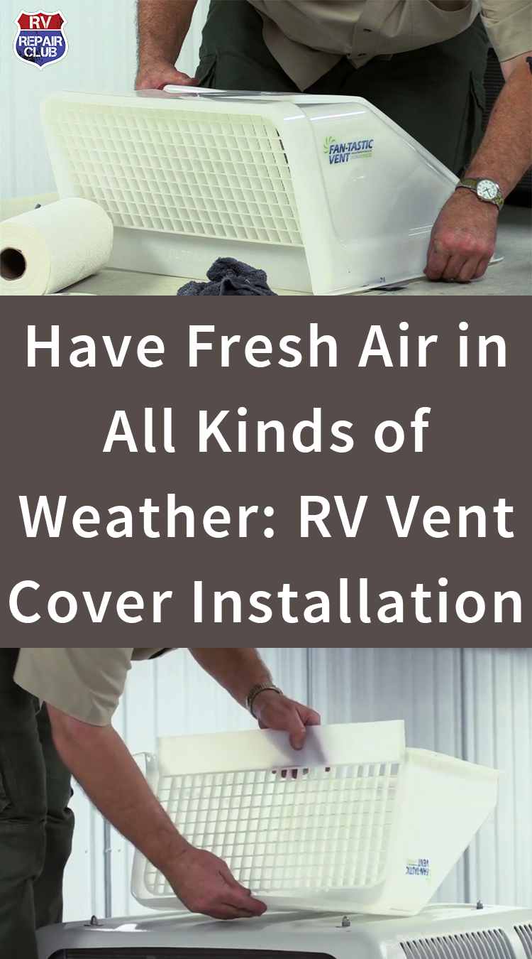 RV Vent Cover Installation Vent covers, Roof vent covers