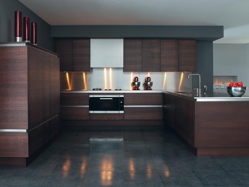 veneer cabinets ... Wood Veneer Kitchen Cabinet (Verona) - China ...
