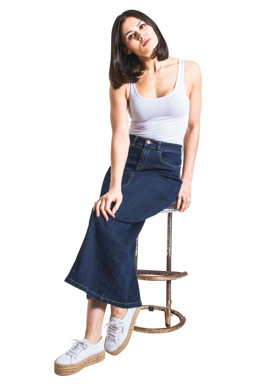 761343816 Ladies Long Denim Skirt Uk   Huston Fislar Photography