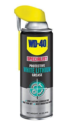 Wd 40 Specialist White Lithium Grease Spray Metal On Metal Lubricant And Corrosion Inhibitor 10 Oz Pack Of 1 Whi Silicone Spray Wd 40 Silicone Lubricant