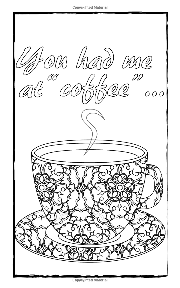 AmazonSmile: Adult Coloring Books: Coffee Lovers Travel Edition ...