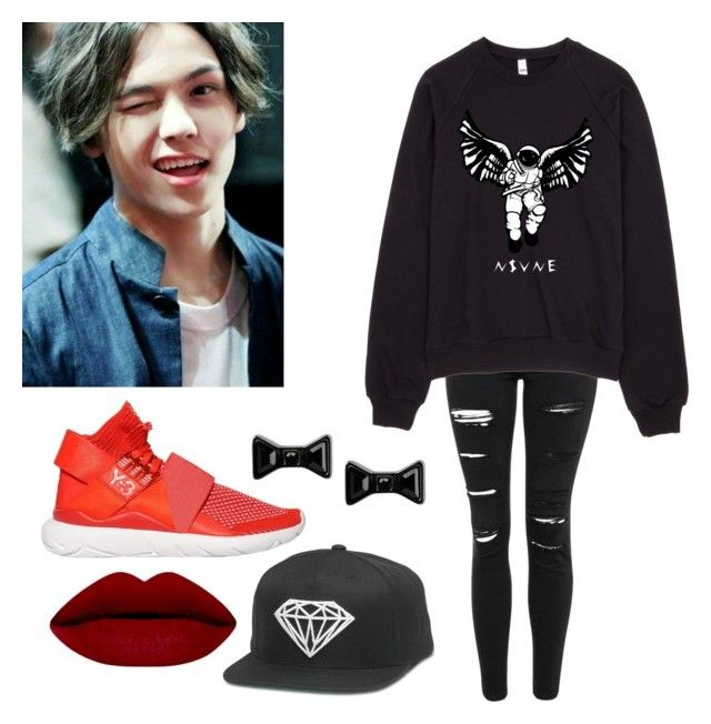 """Female version of Vernon"" by skyfull ❤ liked on Polyvore featuring Topshop, Y-3, Marc by Marc Jacobs, women's clothing, women's fashion, women, female, woman, misses and juniors"