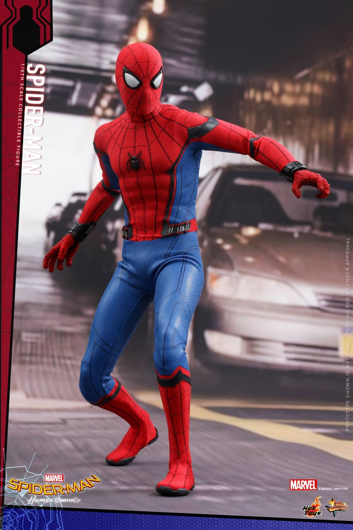 Hot Toys Shows Off Their Spider Man Homecoming Spider Man Action