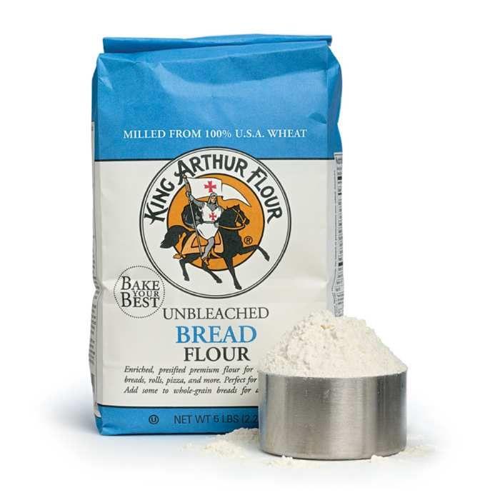 King Arthur Unbleached Bread Flour - 5 Lb
