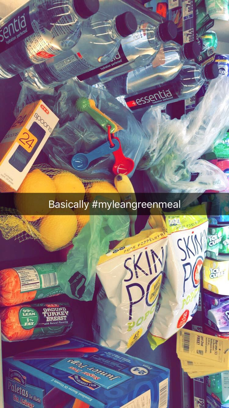 My one Lean green Meal that isn't pre packed .. Grocery