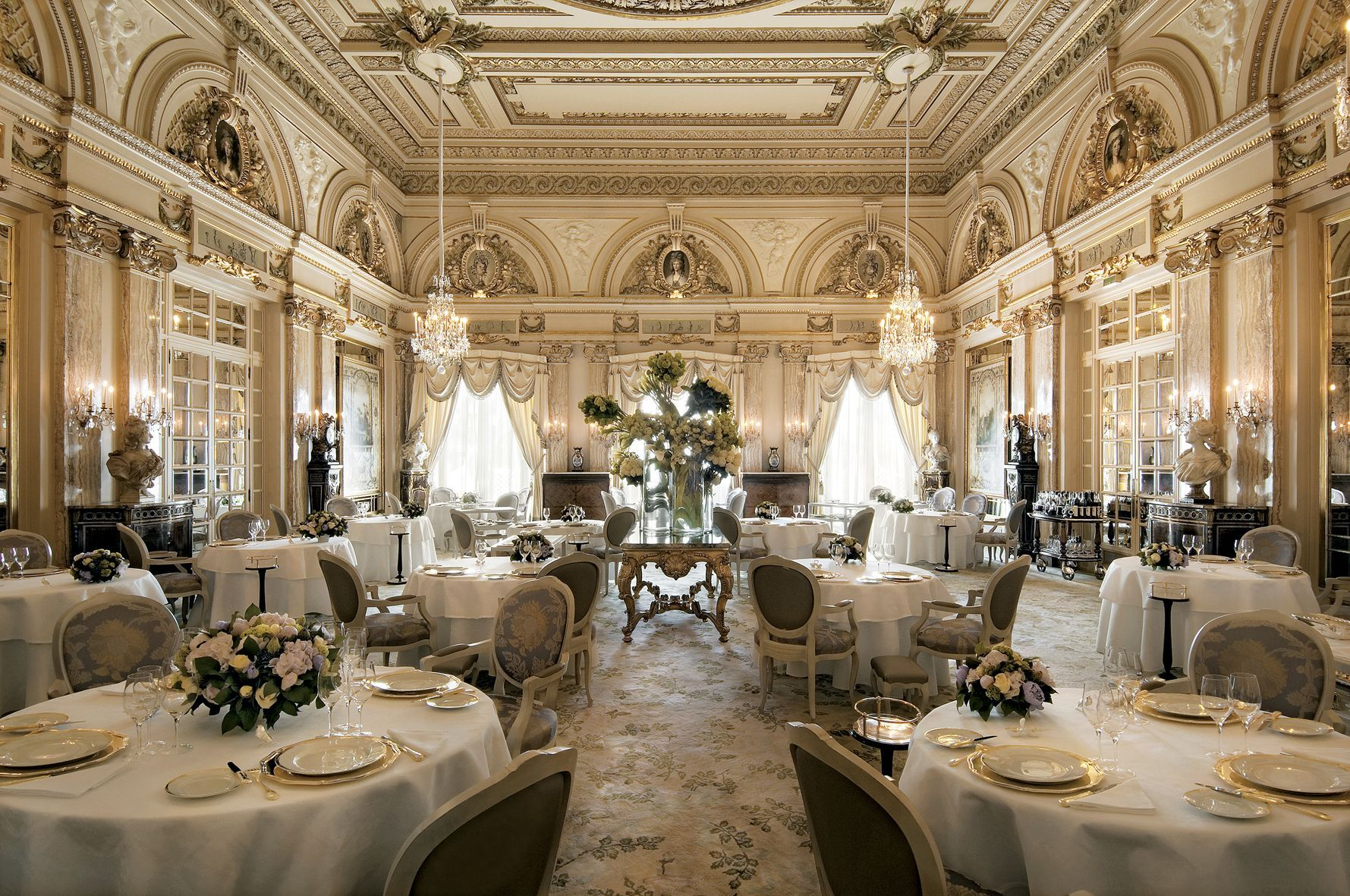 Restaurant Louis Xv Alain Duce Hotel De Paris Monte Carlo Monaco Jacket Required And Tie Recommended 3 Stars In The Michelin Guide Mlle