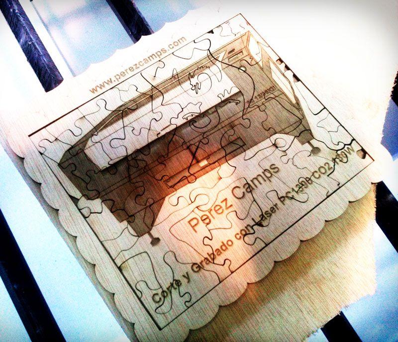 #puzzlemadera #cortelaser #laserpc1390