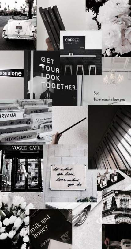 Aesthetic Wallpapers Tumblr Black And White Photo Wall Gray Aesthetic Black And White Aesthetic