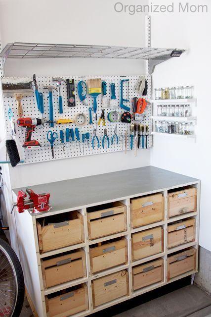 garage workbench design ideas - Workbench Design Ideas