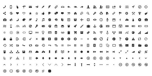 50 High Quality Free Symbol Fonts For Web Designers Alun