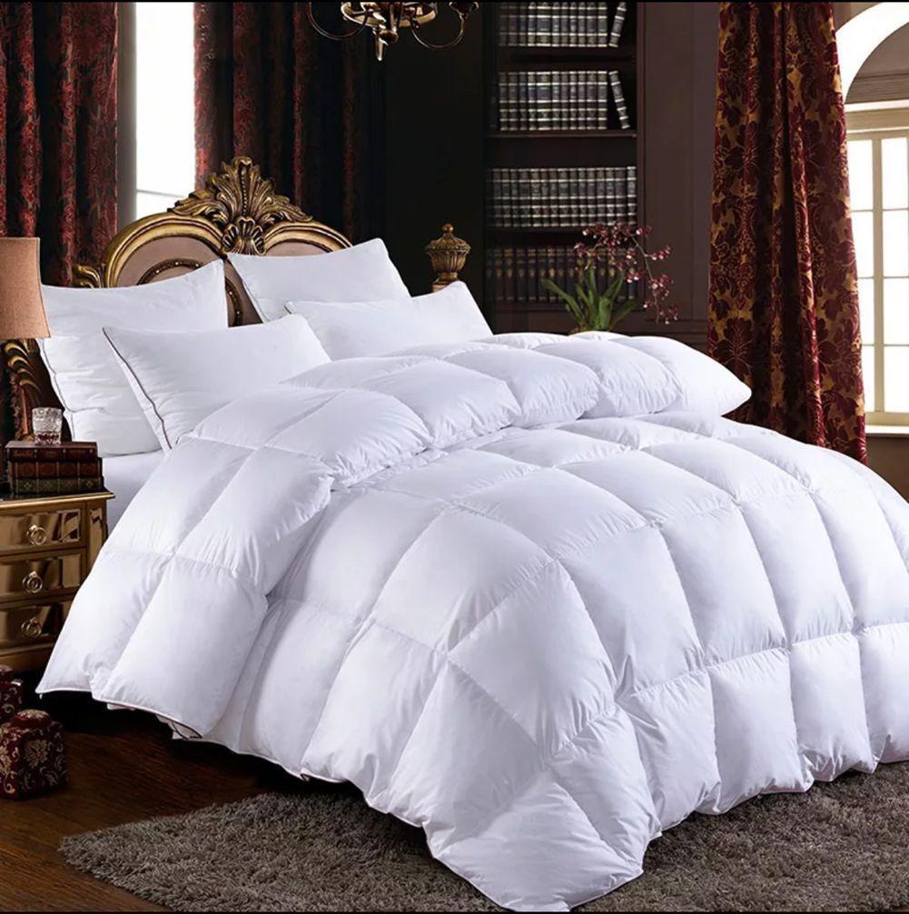 Pure Hungarian Goose Down Comforter Quilt Doona Coverlet Duvet