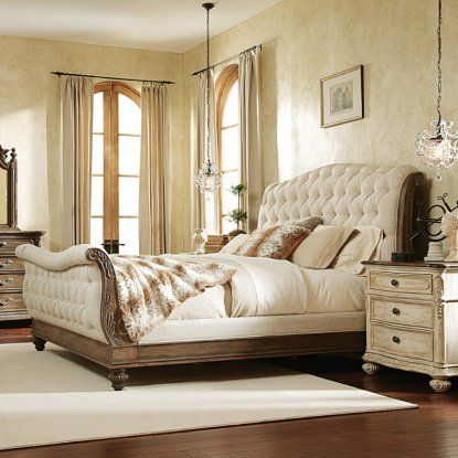 American Drew Jessica McClintock The Boutique Collection Sleigh Bed