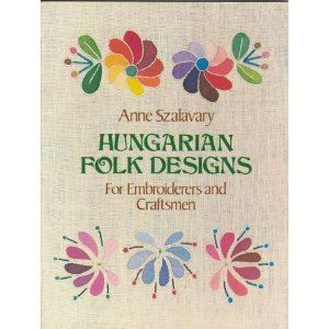 design book for Hungarian style embroidery.
