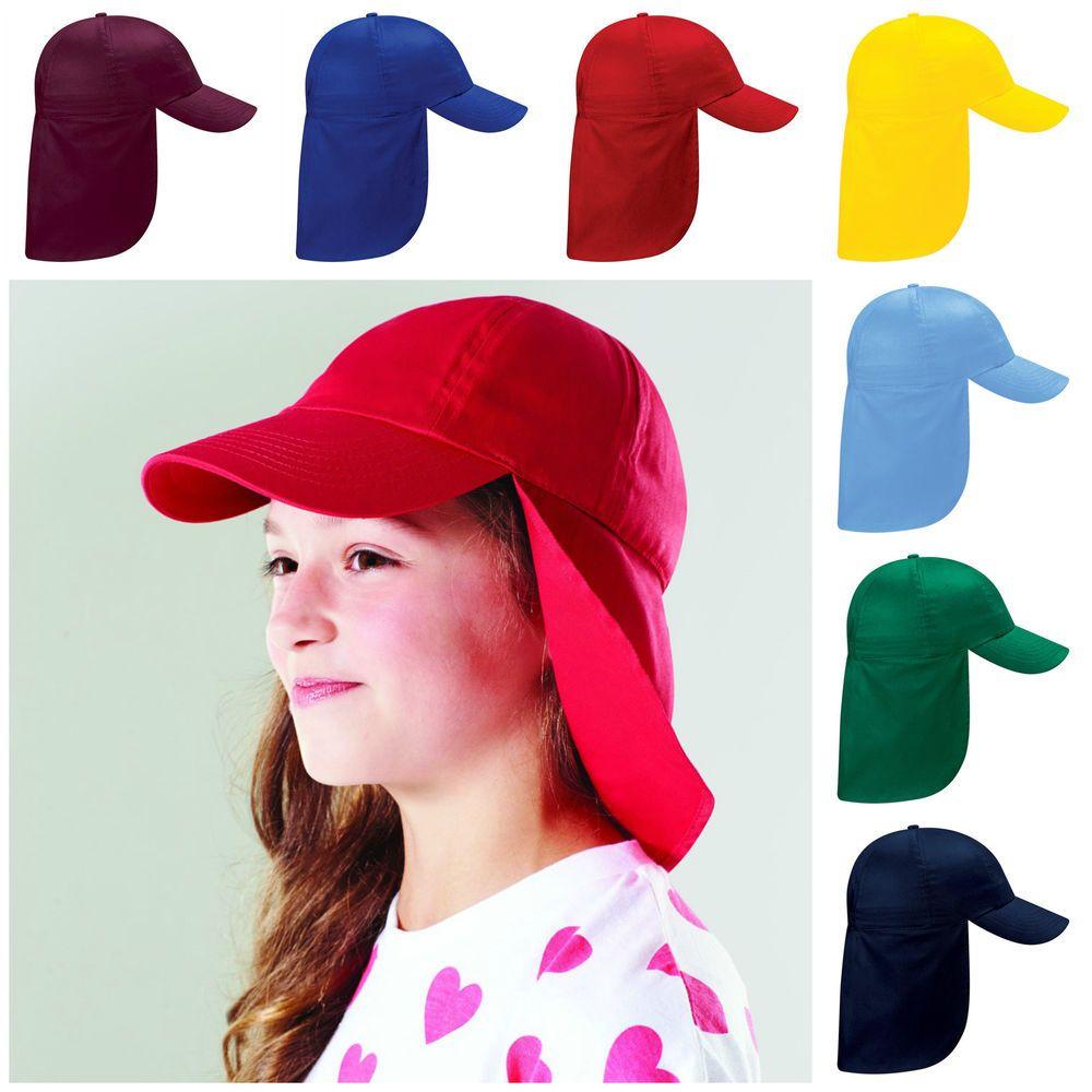 Junior legionnaire Baseball Cap Boy Girl Children Red Hat Sun Protection