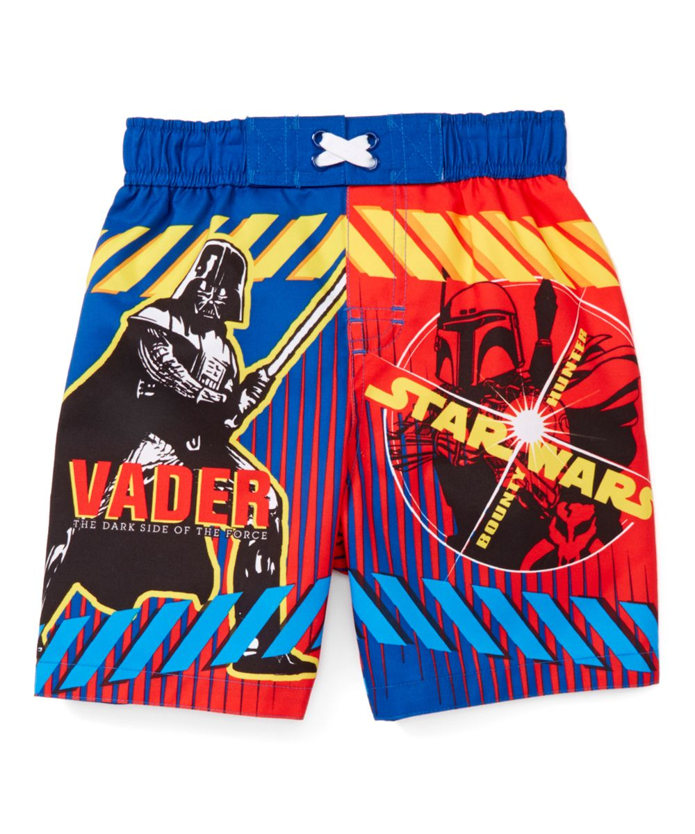 8e759f04ded69 Red & Blue Star Wars Villain Duo Swim Trunks - Toddler | Products ...