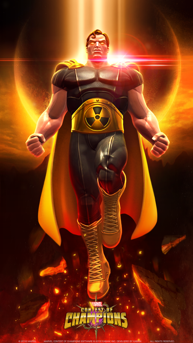 Marvel Contest of Champions - Hyperion Wallpaper