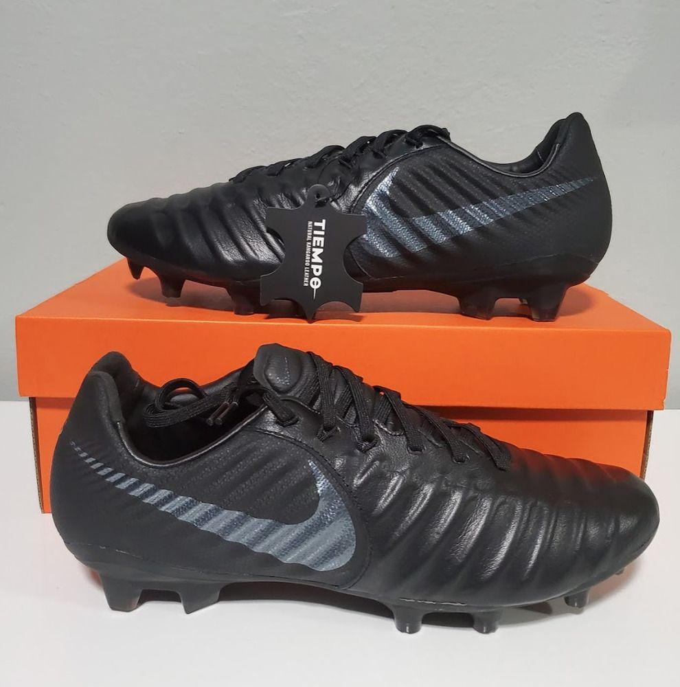 12747c02dd16 Advertisement(eBay) New Nike Firm Ground Tiempo Legend VII 7 Pro FG Black  AH7241