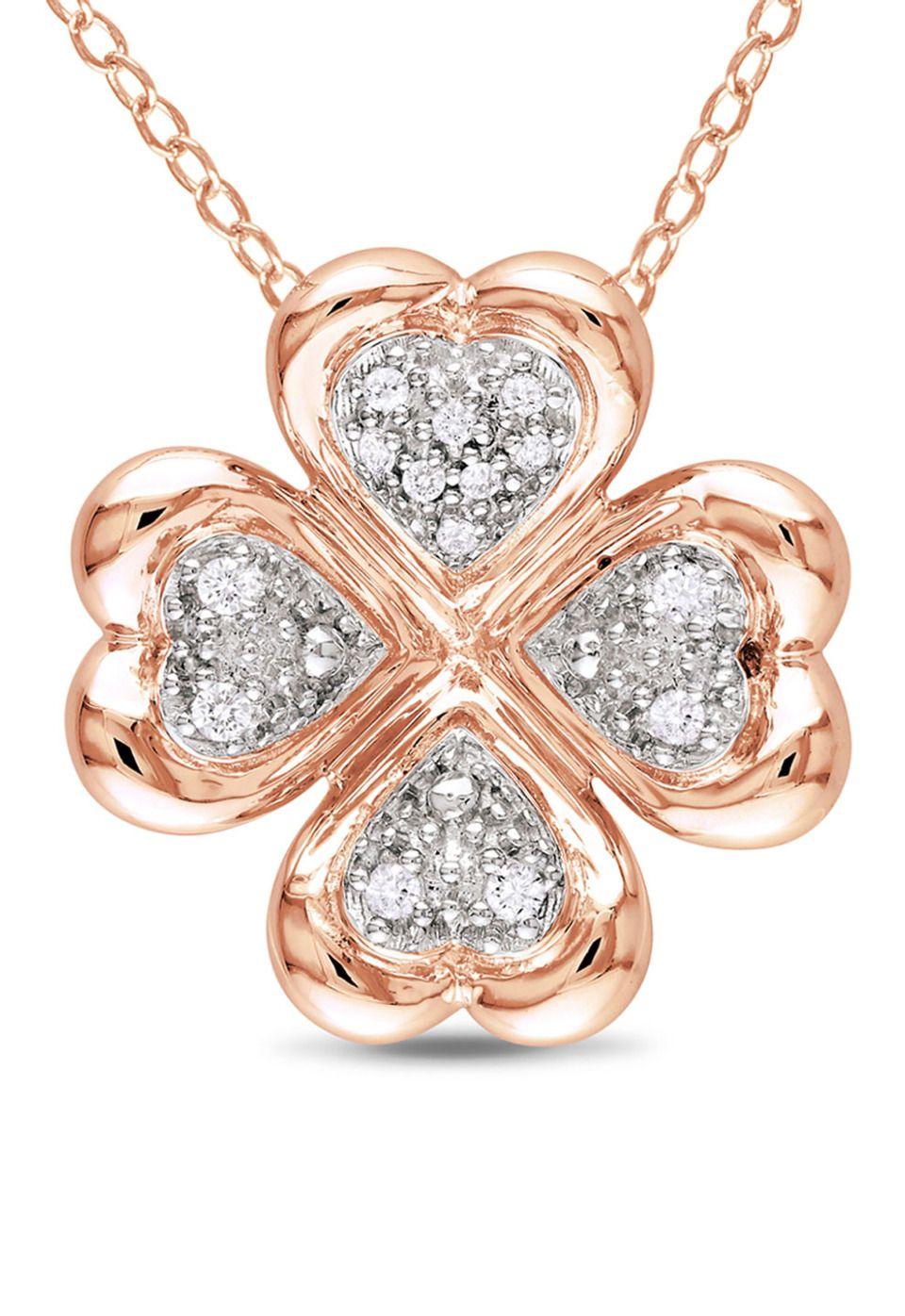 Rosegold Clover Necklace
