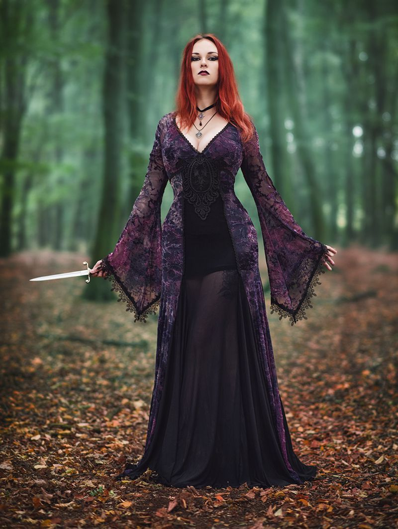 Sexy gothic clothes