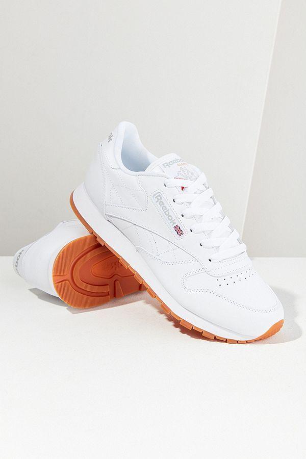 d0e3ab84d Meghan Markle Wears Casual Sneakers - Meghan Markle Reebok Classic Leather  Shoe
