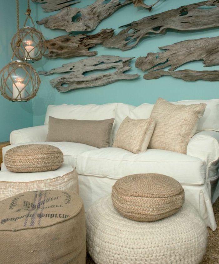 50 idées pour la déco bois flotté | Driftwood, Room makeovers and Salons
