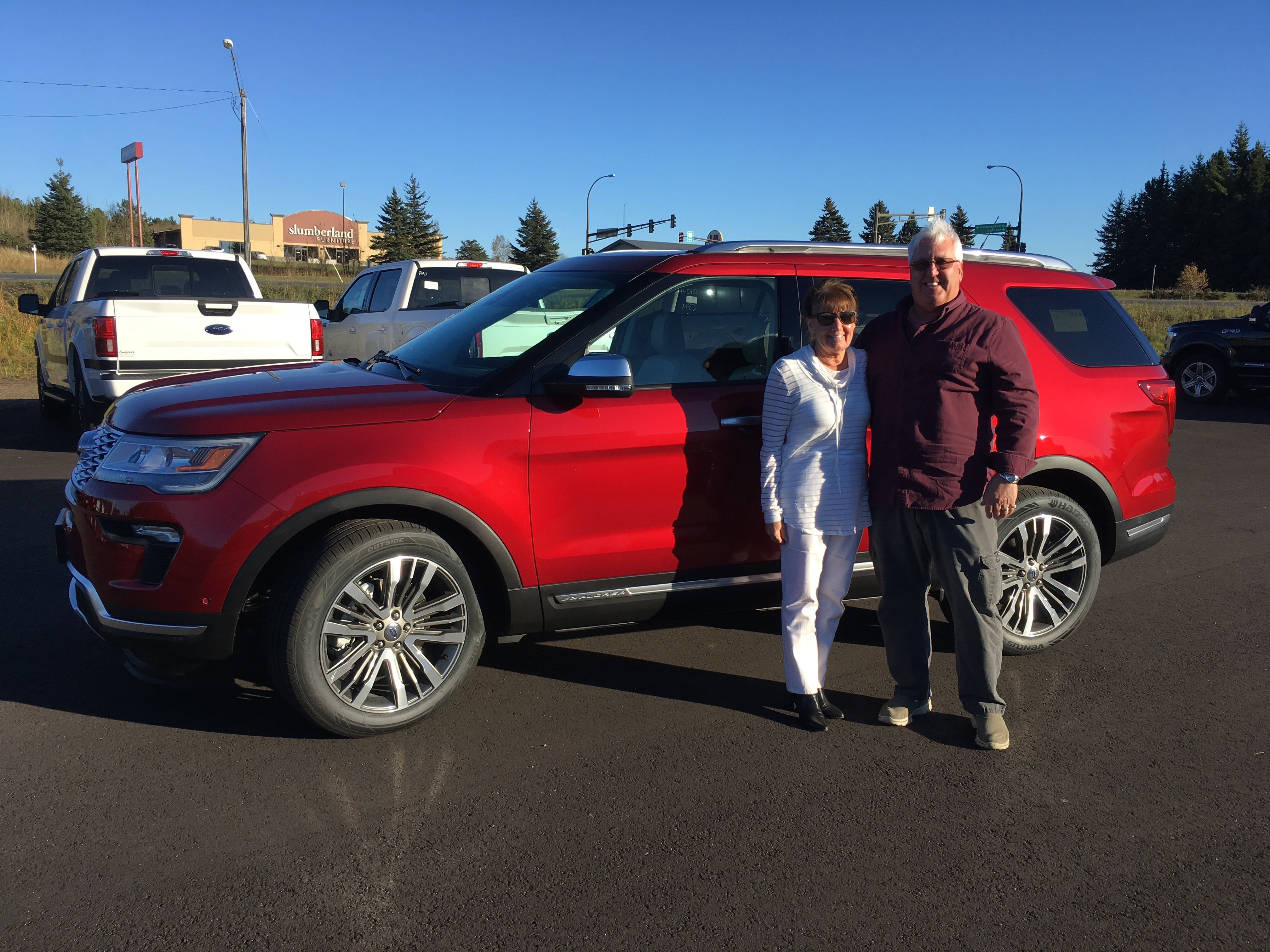 Lundgren S And Brad Hejda Thank Returning Customers Susan And Kent