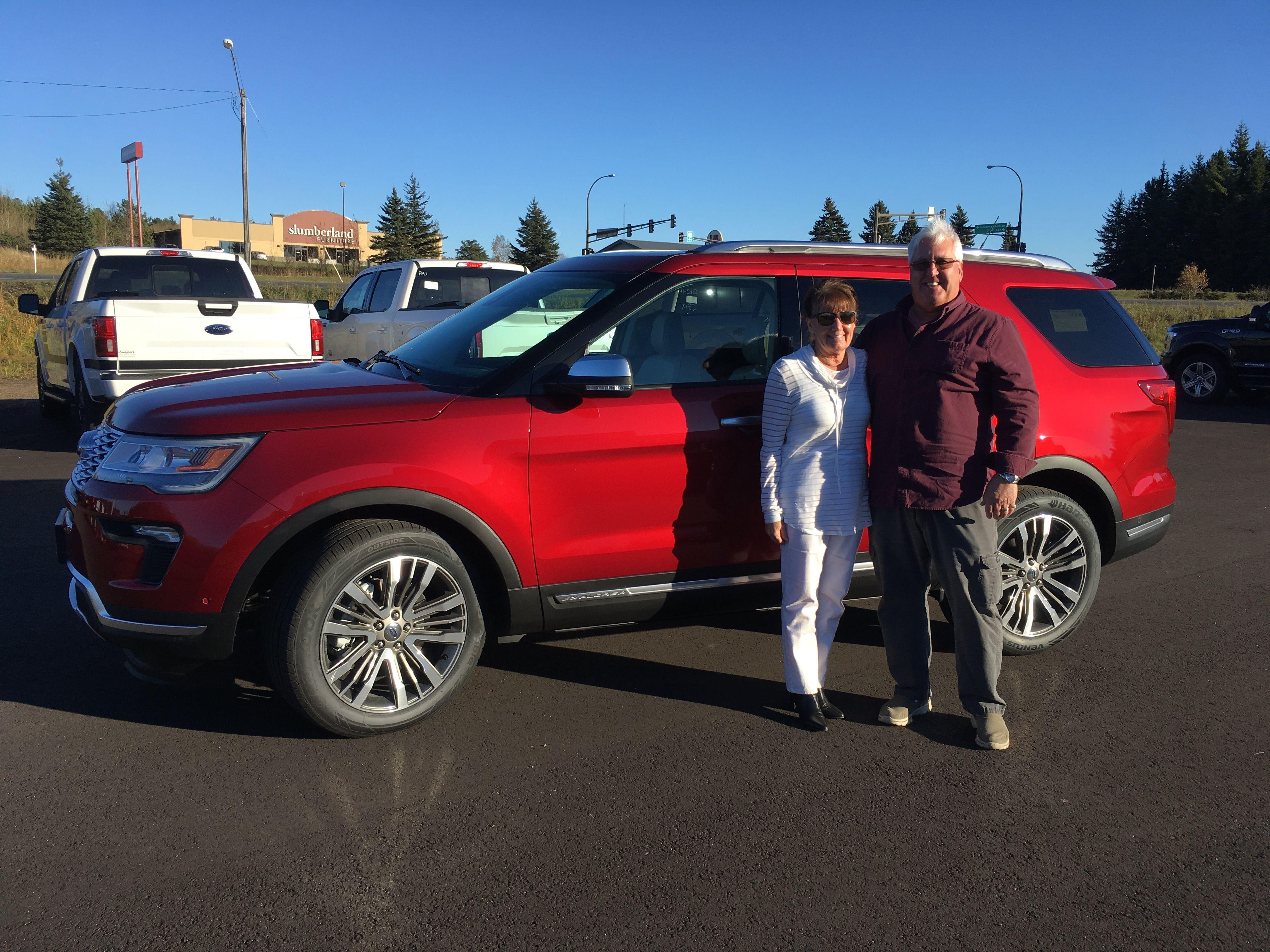Lundgren's and Brad Hejda thank returning customers Susan