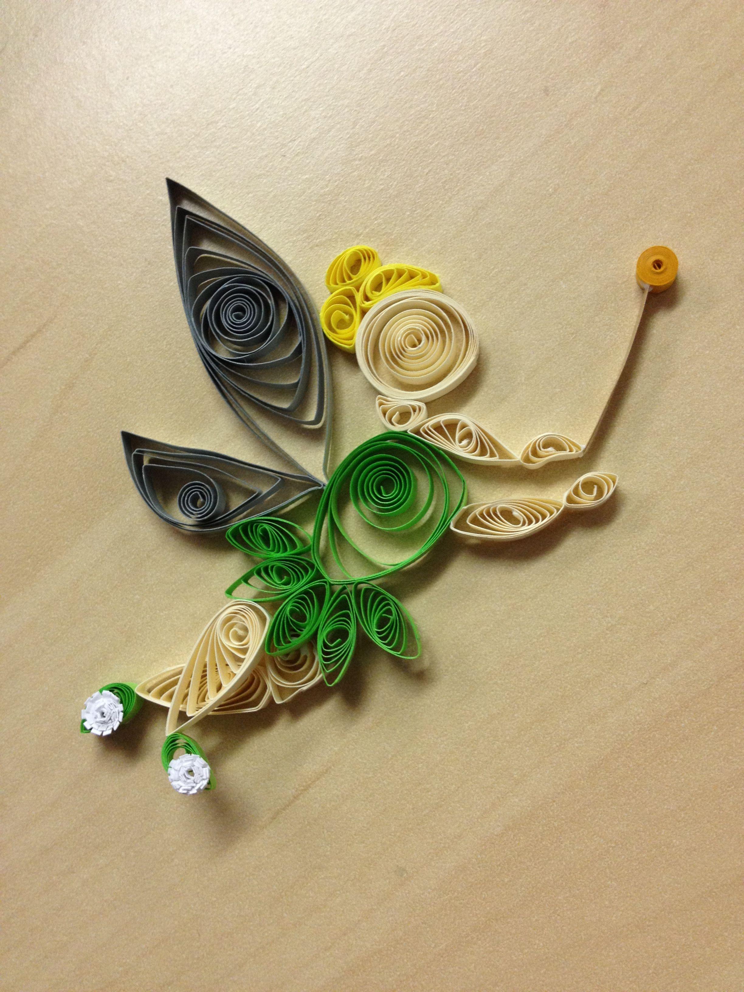 Tinkerbell | Quilling | Pinterest | Filigrana