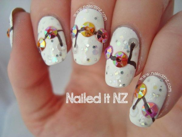 35 Cool 3d Nail Art Nail Art 3d 3d And Designer Nails